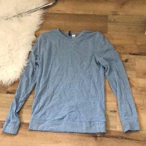 Blue Lightweight Crewneck Sweatshirt